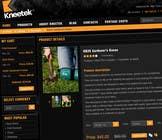 Graphic Design Συμμετοχή Διαγωνισμού #65 για Website Design for KNEETEK.NET