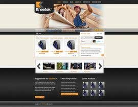 #58 para Website Design for KNEETEK.NET por cnlbuy