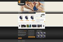Website Design Entri Kontes #30 untuk Website Design for KNEETEK.NET