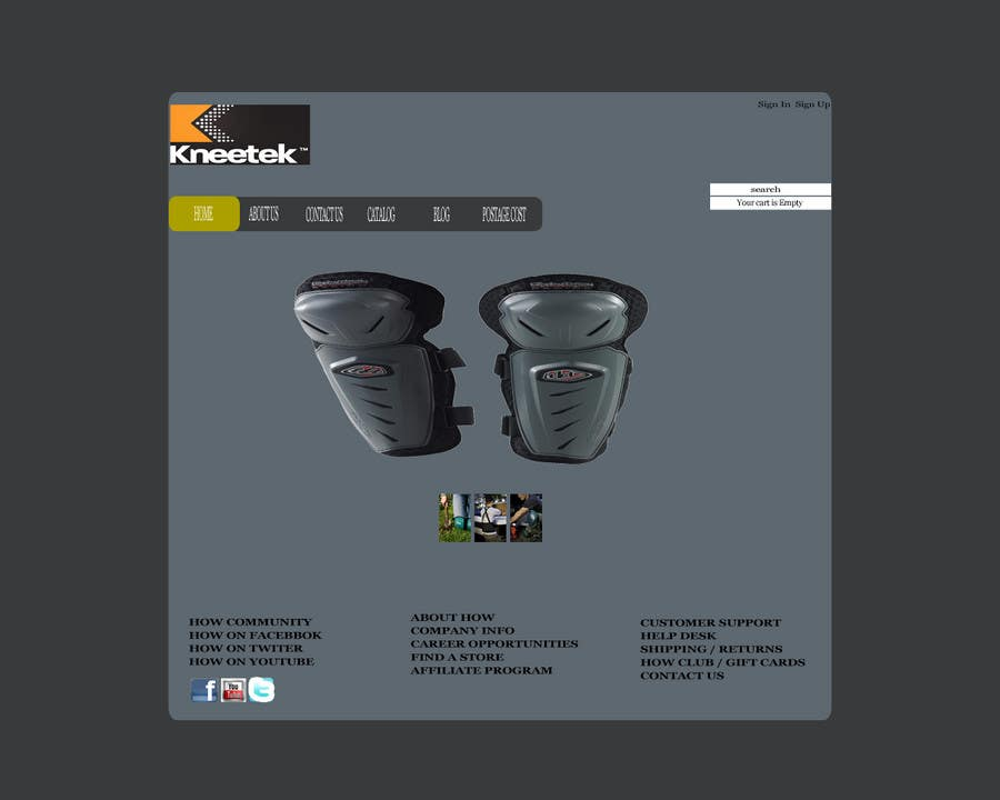 Entri Kontes #35 untukWebsite Design for KNEETEK.NET