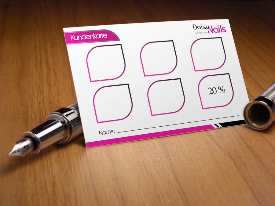 #65 for Design some Business Cards for Nails Studio by RERTHUSI