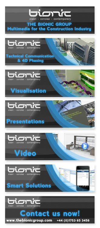 #54 for Banner Ad Design for The Bionic Group by Freelancer0070
