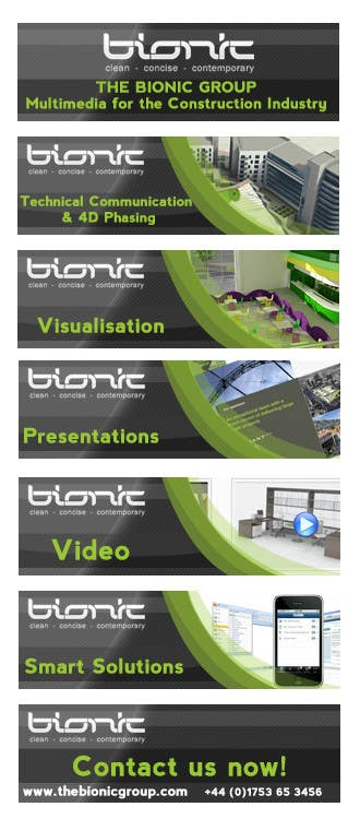 #53 for Banner Ad Design for The Bionic Group by Freelancer0070