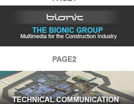 nº 41 pour Banner Ad Design for The Bionic Group par dreamsweb