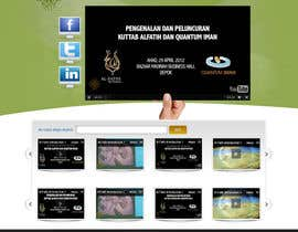 #34 untuk Website Design for KHAAFILA.TV  and HIJRAH.TV online televisions oleh alimoon138