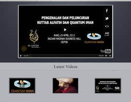 #17 pentru Website Design for KHAAFILA.TV  and HIJRAH.TV online televisions de către TahsinTahil