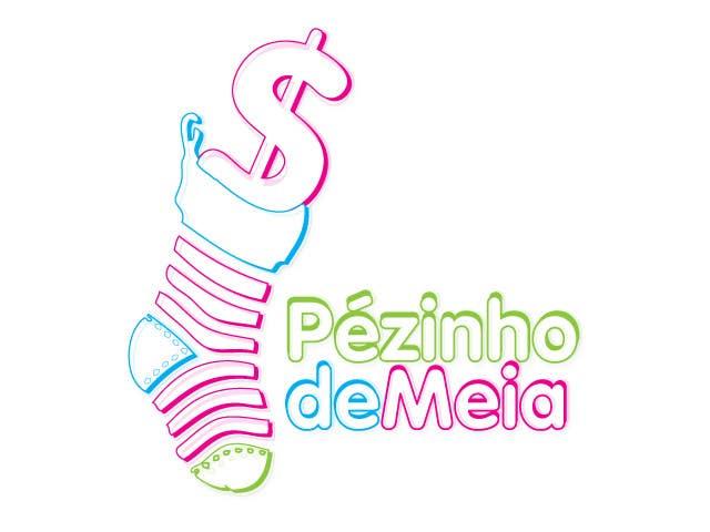 Entri Kontes #198 untukLogo Design for Pezinho de Meia (Baby Socks in portuguese)