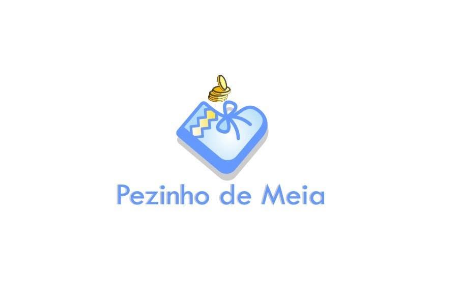 Entri Kontes #148 untukLogo Design for Pezinho de Meia (Baby Socks in portuguese)