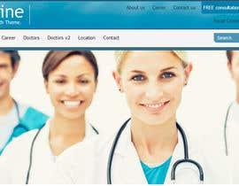 Nro 6 kilpailuun Doctor search website responsive mockup käyttäjältä neha003