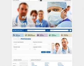 Nro 12 kilpailuun Doctor search website responsive mockup käyttäjältä neha003