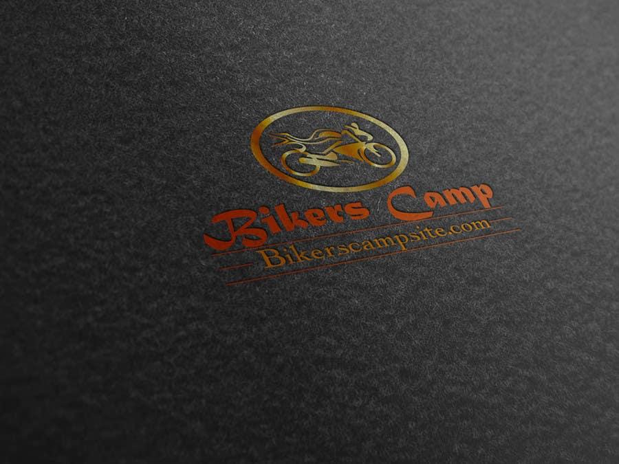 Contest Entry #12 for Bikers Campsite logo