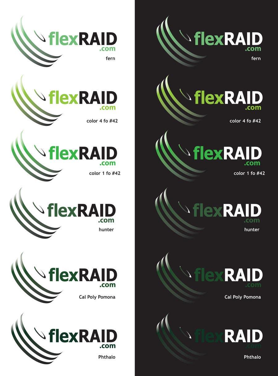 Конкурсная заявка №66 для Logo Design for www.flexraid.com