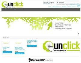 #92 for UNCLICK Diseño del logo by parrajg17
