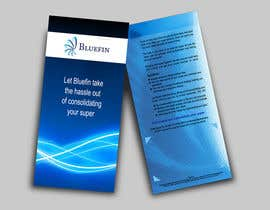 nº 17 pour Flyer Design for Bluefin par smarttaste
