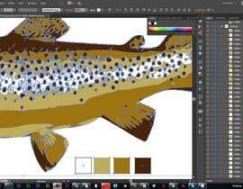 cdd1234 tarafından Illustrate 3 species of fish to be used for embroidery için no 14