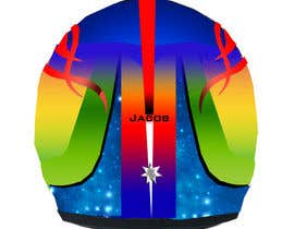 #47 untuk Racing Helmet design for 9 year old boy. oleh vishmith