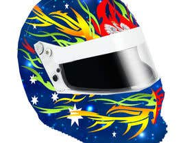nº 43 pour Racing Helmet design for 9 year old boy. par vishmith