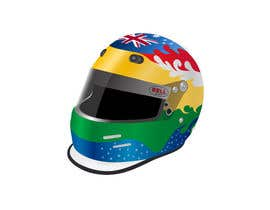 #41 para Racing Helmet design for 9 year old boy. por dipcore