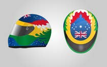Racing Helmet design for 9 year old boy. için Graphic Design30 No.lu Yarışma Girdisi