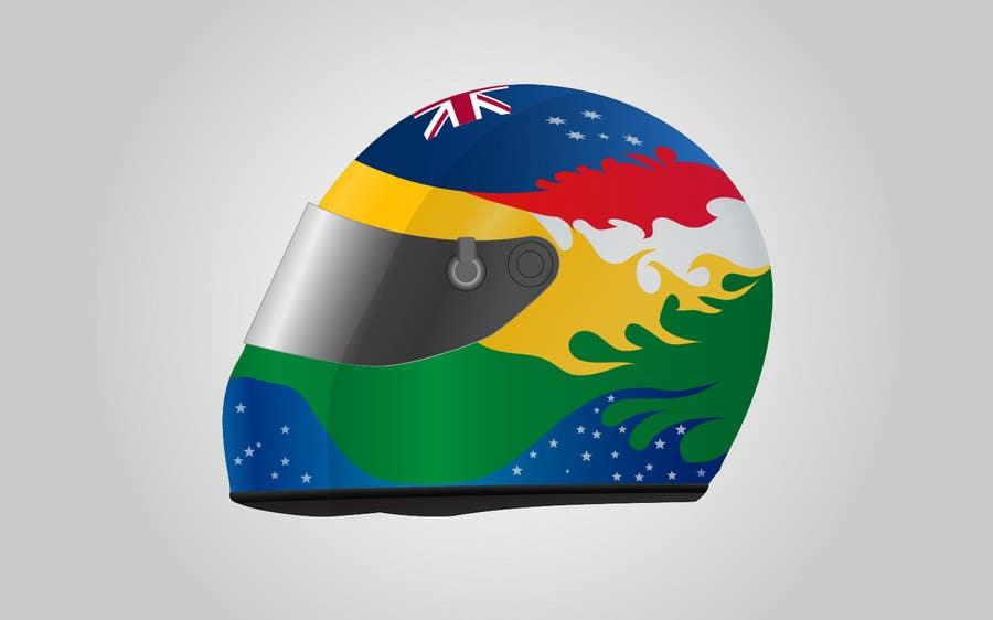 Bài tham dự cuộc thi #                                        28                                      cho                                         Racing Helmet design for 9 year old boy.