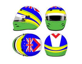 #49 para Racing Helmet design for 9 year old boy. por Freelancer0070