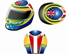 #13 cho Racing Helmet design for 9 year old boy. bởi sjsrikanth