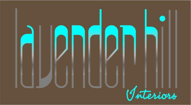 Конкурсная заявка №22 для Logo Design for Lavender Hill Interiors