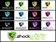 Graphic Design Inscrição do Concurso Nº161 para Logo Design for T-Shirt Company.  ShockWave Tees
