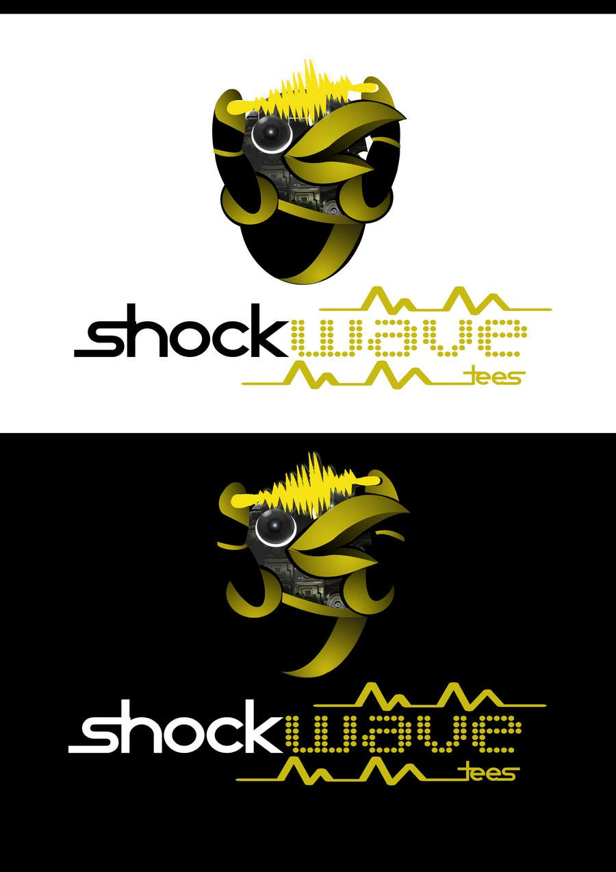 #135 for Logo Design for T-Shirt Company.  ShockWave Tees by xcerlow