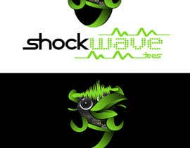 nº 138 pour Logo Design for T-Shirt Company.  ShockWave Tees par xcerlow