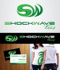 Contest Entry #148 for Logo Design for T-Shirt Company.  ShockWave Tees
