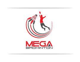 georgeecstazy tarafından Design a Logo for Mega Badminton (Badminton Court) için no 106