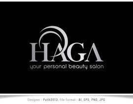 putih2013 tarafından Design a Logo Your personal beauty salon  HAGA için no 35