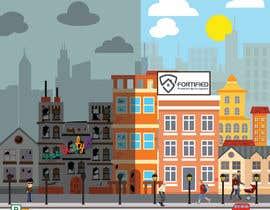 overtservices tarafından Illustrate a building with two different scenarios.... Unoccupied & Occupied için no 20