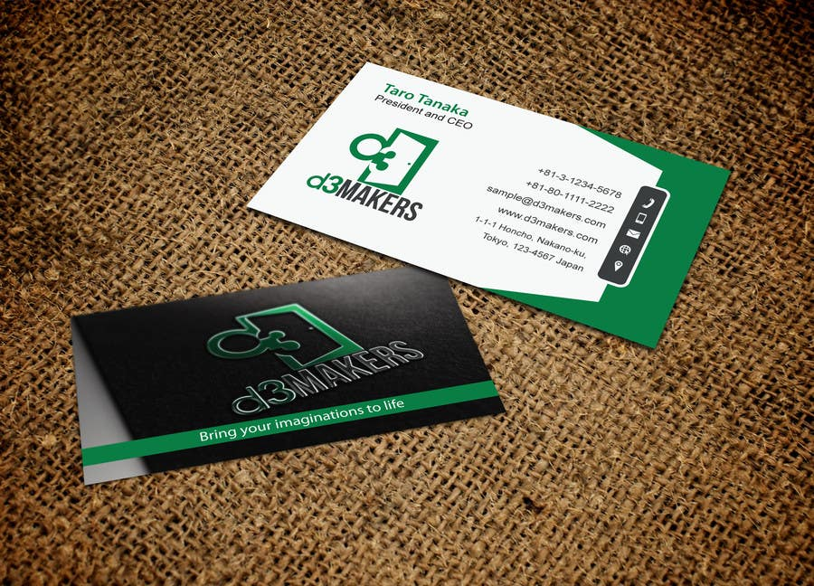Entry #89 by mdreyad for Design impressive and catchy Business Cards ...