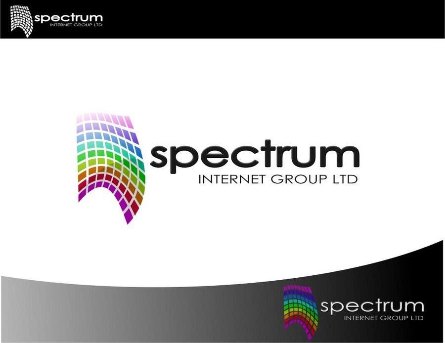 Penyertaan Peraduan #103 untuk Logo Design for Spectrum Internet Group LTD