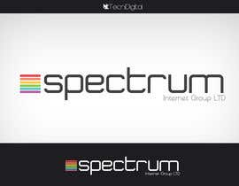 nº 13 pour Logo Design for Spectrum Internet Group LTD par tecnidigital