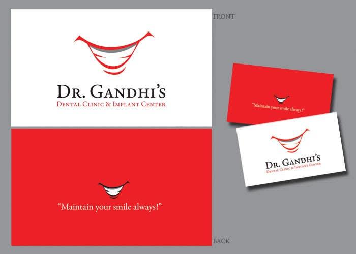 Bài tham dự cuộc thi #                                        42                                      cho                                         Design a Logo for Dr. Gandhi Dental Clinic & Implant centre