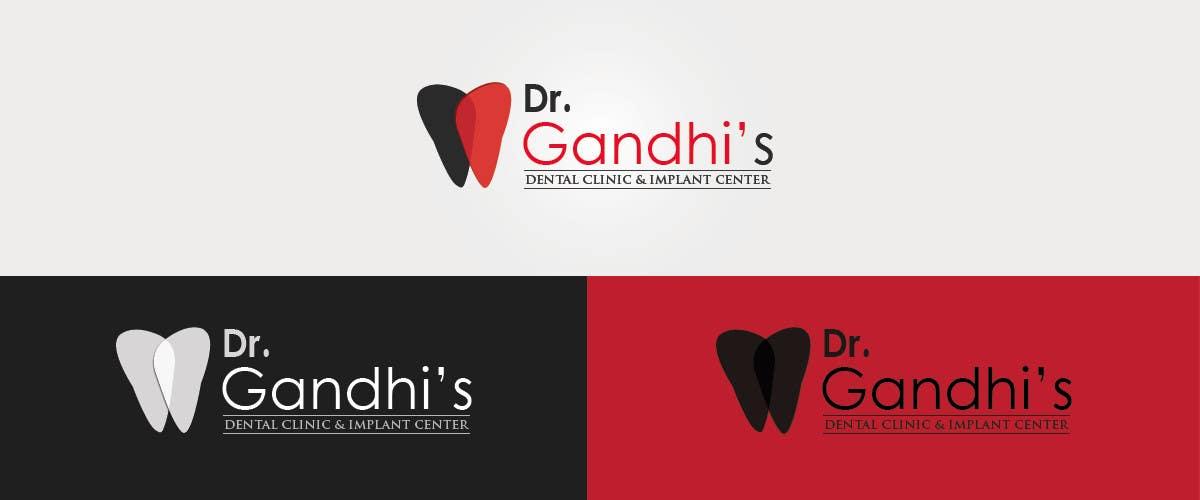 Bài tham dự cuộc thi #                                        17                                      cho                                         Design a Logo for Dr. Gandhi Dental Clinic & Implant centre