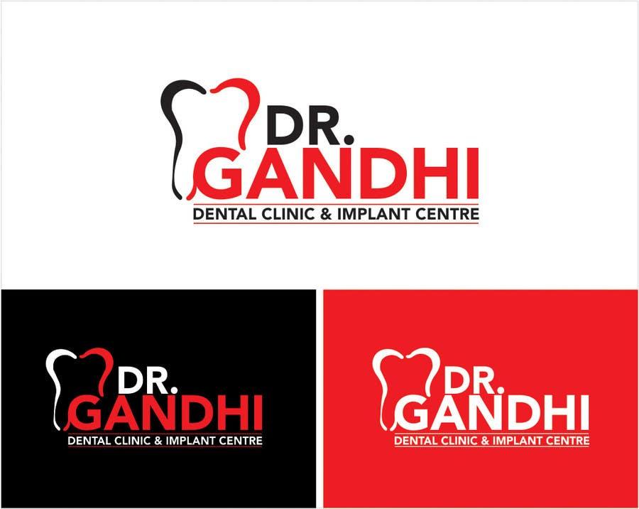 Bài tham dự cuộc thi #                                        35                                      cho                                         Design a Logo for Dr. Gandhi Dental Clinic & Implant centre