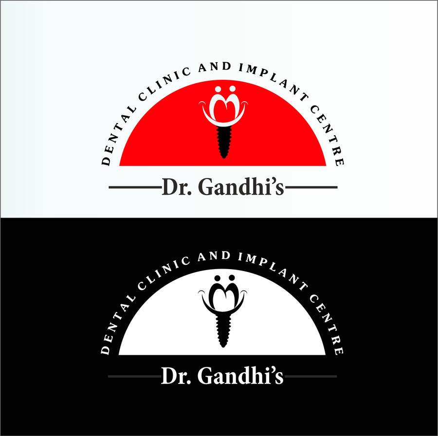 Bài tham dự cuộc thi #                                        43                                      cho                                         Design a Logo for Dr. Gandhi Dental Clinic & Implant centre