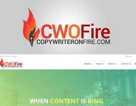 Jaylmyersco tarafından Logo for Copywriteronfire.com için no 20