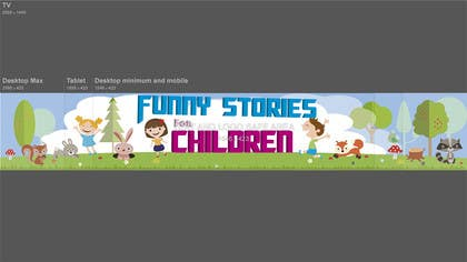 ErickDavid tarafından Diseñar un logotipoy un banner para un canal infantil  de youtube için no 10