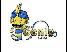abdolilustrador tarafından Logo Design for Genie Agency için no 38