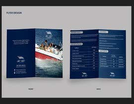 #16 for Design an A5 flyer for boat rental services by micacreation