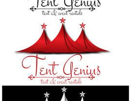 "#24 for Design a logo for ""Tent Genius"" by karunrams"