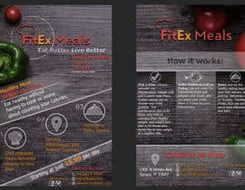 BogdanStep tarafından Design a Flyer For FitEx Meals için no 36