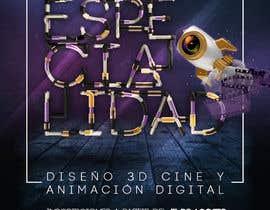 #44 for Diseña un flyer para el posgrado en diseño 3d, cine y animación digital by TeirysDulce