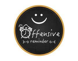 zindanartwork tarafından Design a Logo for Offesnsive Reminders için no 73