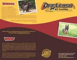 mickem tarafından Design a Brochure for Off Leash K9 Training, Central MN -- 2 için no 23